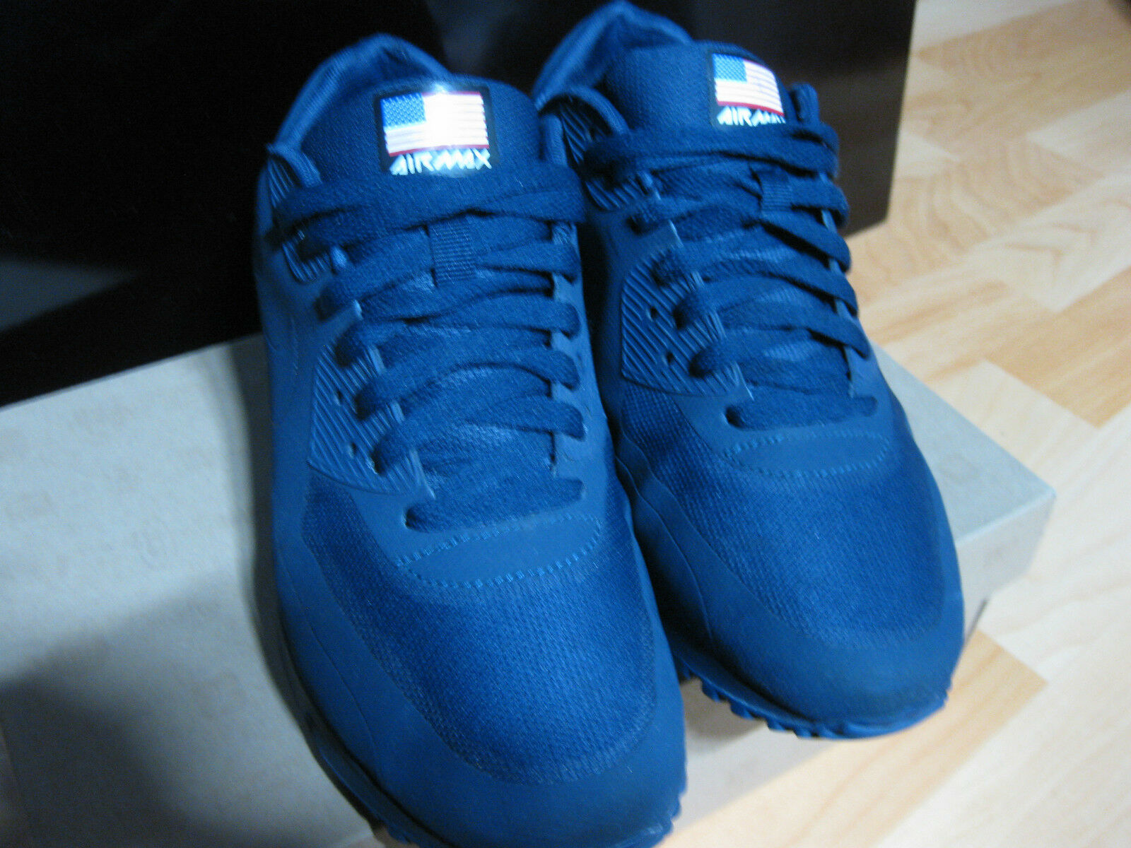 Nike Air Max 90 HYPERFUSE INDEPENDENCE DAY Sz 8.5