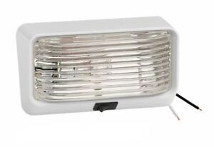 Bargman 78 Series Rv Porch Utility Light With Switch And