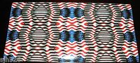 American Flag Small Small Pattern Vinyl 12 X 24 Sheet