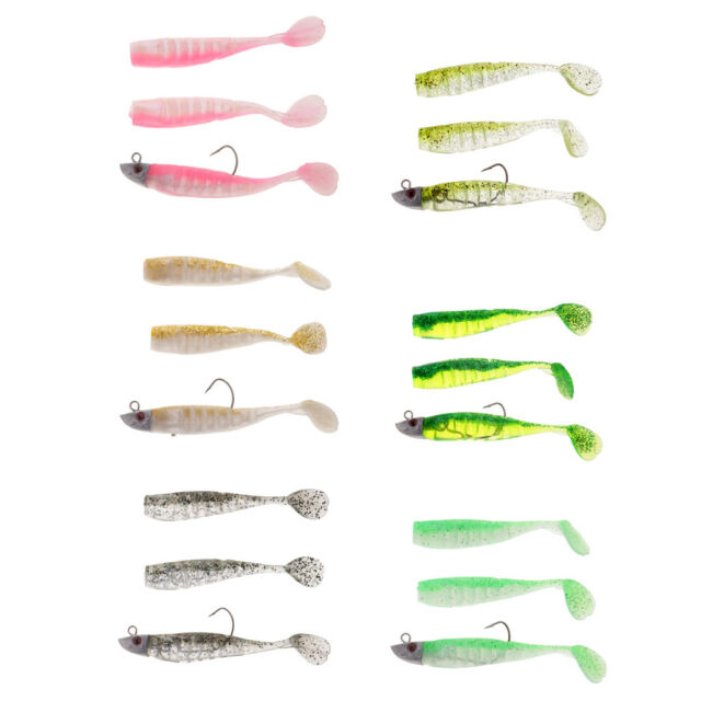 """River2Sea JSJ Trigger Trout 7.5/"""" 3oz Rigged Weedless Swimbait Choose Color"""