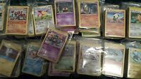 100 Pokemon Cards Lot with 5 FOILS and 5 RARES No Duplicates!!  Free shipping!