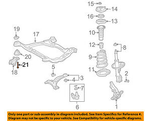 image is loading toyota-oem-04-18-sienna-front-suspension-engine-
