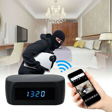 24hr NIGHT VISION WIRELESS WIFI CAMERA IN CLOCK H.264 1080p FULL HD MOBILE VIDEO