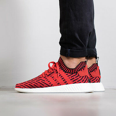 reputable site 5ff63 7c8f3 Adidas NMD R2 PK size 11.5 Core Red Black Gum. BB2910. primeknit ultra  boost | eBay