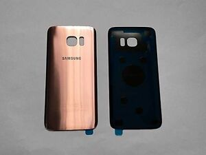 cover samsung s7 edge gold rose