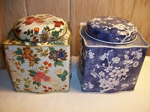 Daher-Ware-made-in-England-2-lovely-decorative-tins