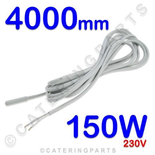 Elemento riscaldante di drenaggio Wire 4000mm Cavo Riscaldatore di sbrinamento Frigorifero Congelatore 150W 230V