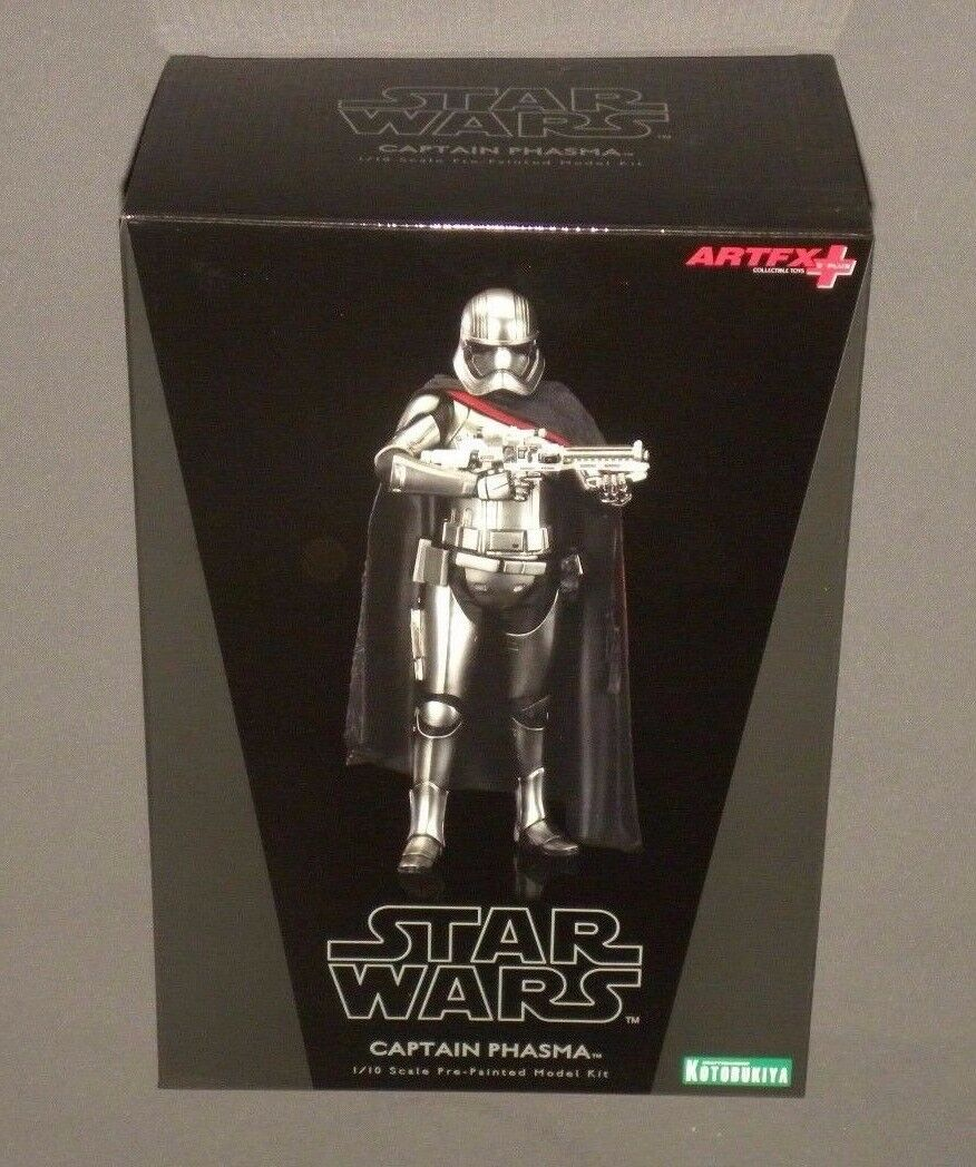 Star Wars Kotobukiya Kapitän Phasma The Force Awakens 1/10 Modell Bausatz Artfx