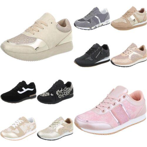 Sneakers Sportschuhe Freizeitschuhe Sneakers Low Damenschuhe 7171 Ital-design