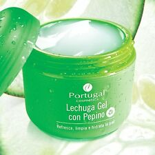 Portugal cosméticos Lechuga Pepino Gel Crema Skin alimentos Hidratante Gel Crema