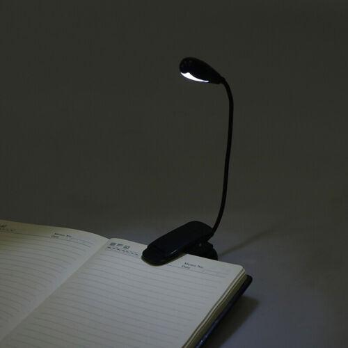 LED-Leselampe mit Clip und wiederaufladbarer USB-Leselampe für Schreibtische