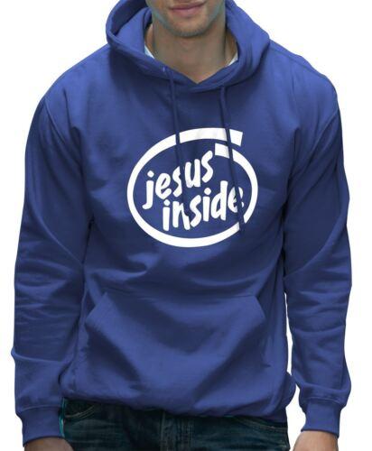 Funny Internet IT Geek Nerd Programmer Gift Hoodie Jesus Inside Unisex Hoody