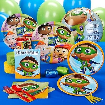 Super Why! Birthday Party Pack for 16