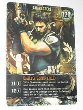 Resident evil Deck Building Game Promo Card Chris Redfield