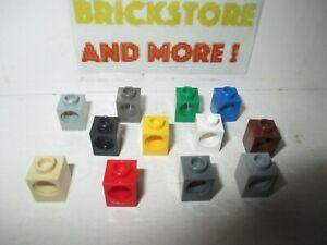 Lego-Brick-Brique-1x1-Technic-Hole-6541-Choose-Color-amp-Quantity