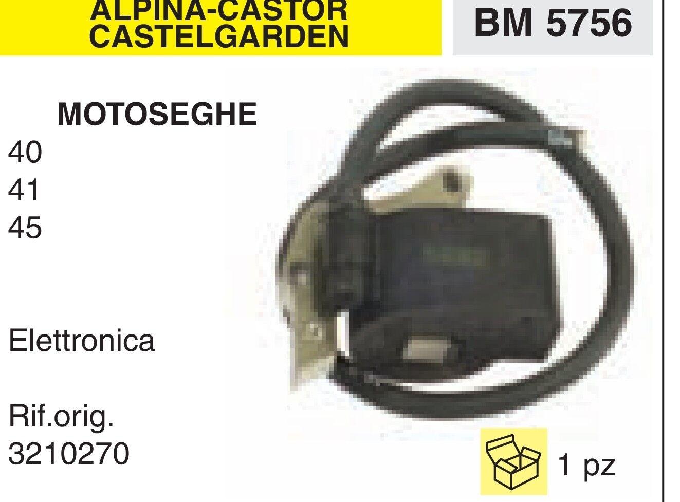consegna e reso gratuiti 3210270 BOBINA ELETTRONICA MOTOSEGA ALPINA CASTOR A A A 40 41 45  qualità ufficiale