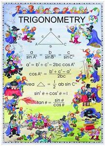 Senior Maths Poster Area Math Poster. Educational Aid
