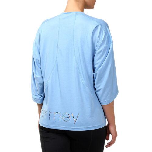 holgada Blusa mujer de Es Adidas Stella Mccartney para Logo de 7gqxgd
