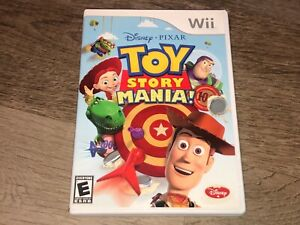 Toy Story Mania Nintendo Wii Complete CIB w/3D Glasses Authentic