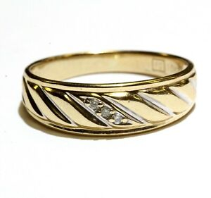 10k-yellow-gold-022ct-diagonal-diamond-mens-wedding-band-ring-3-4g-gents