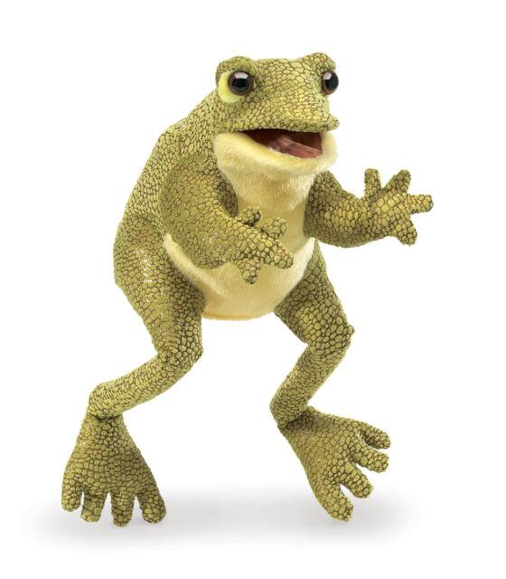 Folkmanis Leopard Frog Hand Puppet