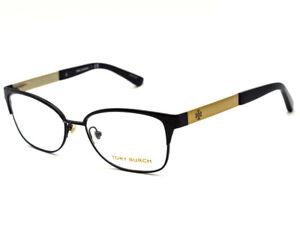 3b00af1ff3df Tory Burch Women's Eyeglasses TY 1046 3100 Black Gold Full Rim Frame ...