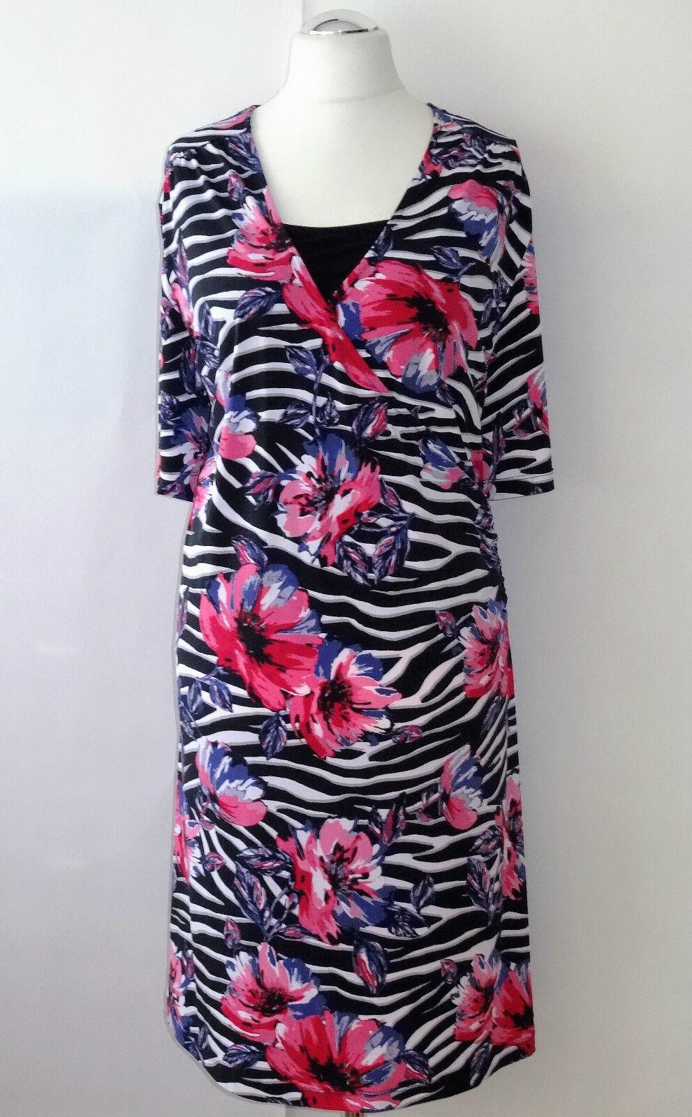 Samoon by Gerry Weber Damenkleid Gr. 52 Kleid Etuikleid Sommerkleid