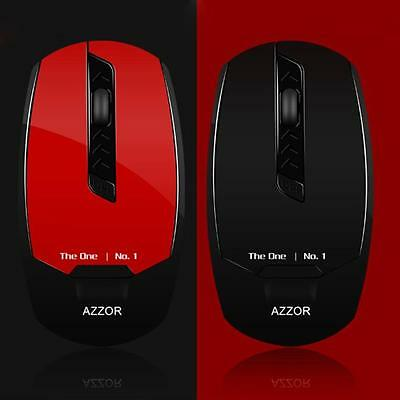 Rechargeable Laser Wireless Mouse For Laptop 2400DPI 5D Optical USB Gaming Mouse