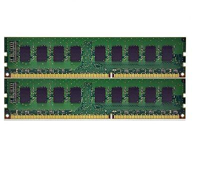 8GB 2x4GB 240pin PC3-12800 DDR3 1600MHz ECC Memory HP Z420 Z620 Z820 NEW