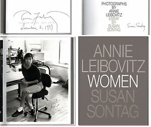 Image Is Loading Women Signed By Photographer Annie Leibovitz Susan Sontag