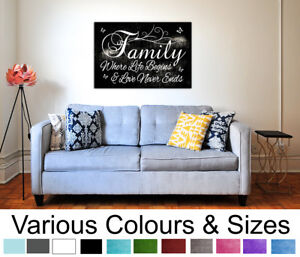 Family-Wall-Art-Quote-Picture-Family-Where-Life-Begins-Wall-Canvas-Print-A1-A2