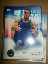 2016 Topps Olympics bronze parallel #26 Danell Leyva, men's gymnastics