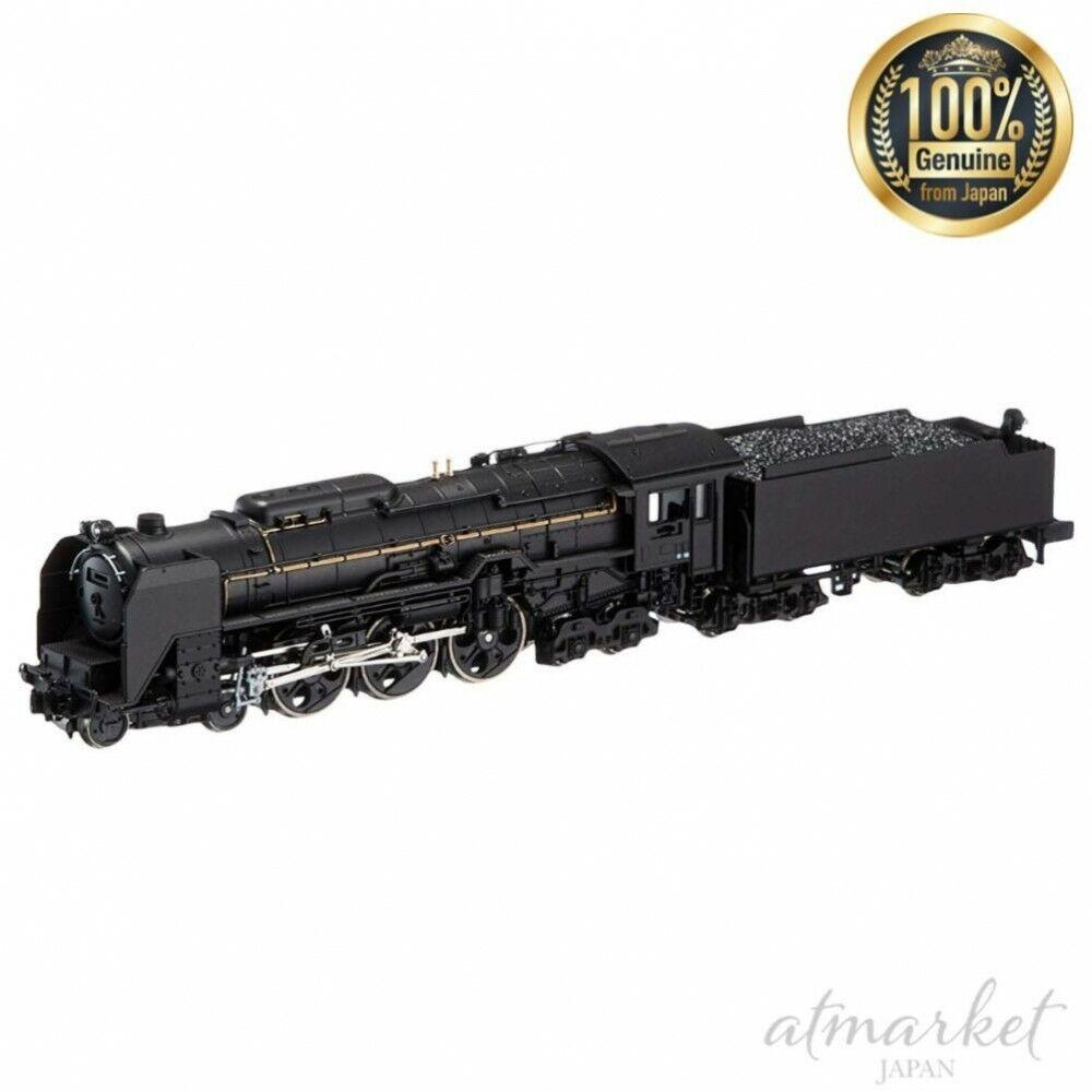 Kato N Calibre 2017-6 Locomotora de vapor C62 máquina de tracción Yuzuru modelo de ferroCocheril