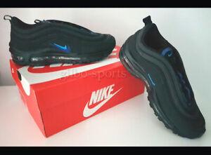 Details zu Nike Air Max 97 GS Black Hero Hyper Royal Blue Größe 38 38,5 schwarz CT6025 001