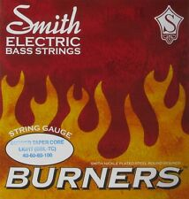 KEN SMITH BBL-TC BASS BURNERS NICKEL PLATED BASS STRINGS, tapered E & A - 40-100