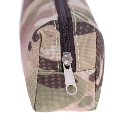 1Pc canvas pencil case camouflage for boy military school supplies stationery TK