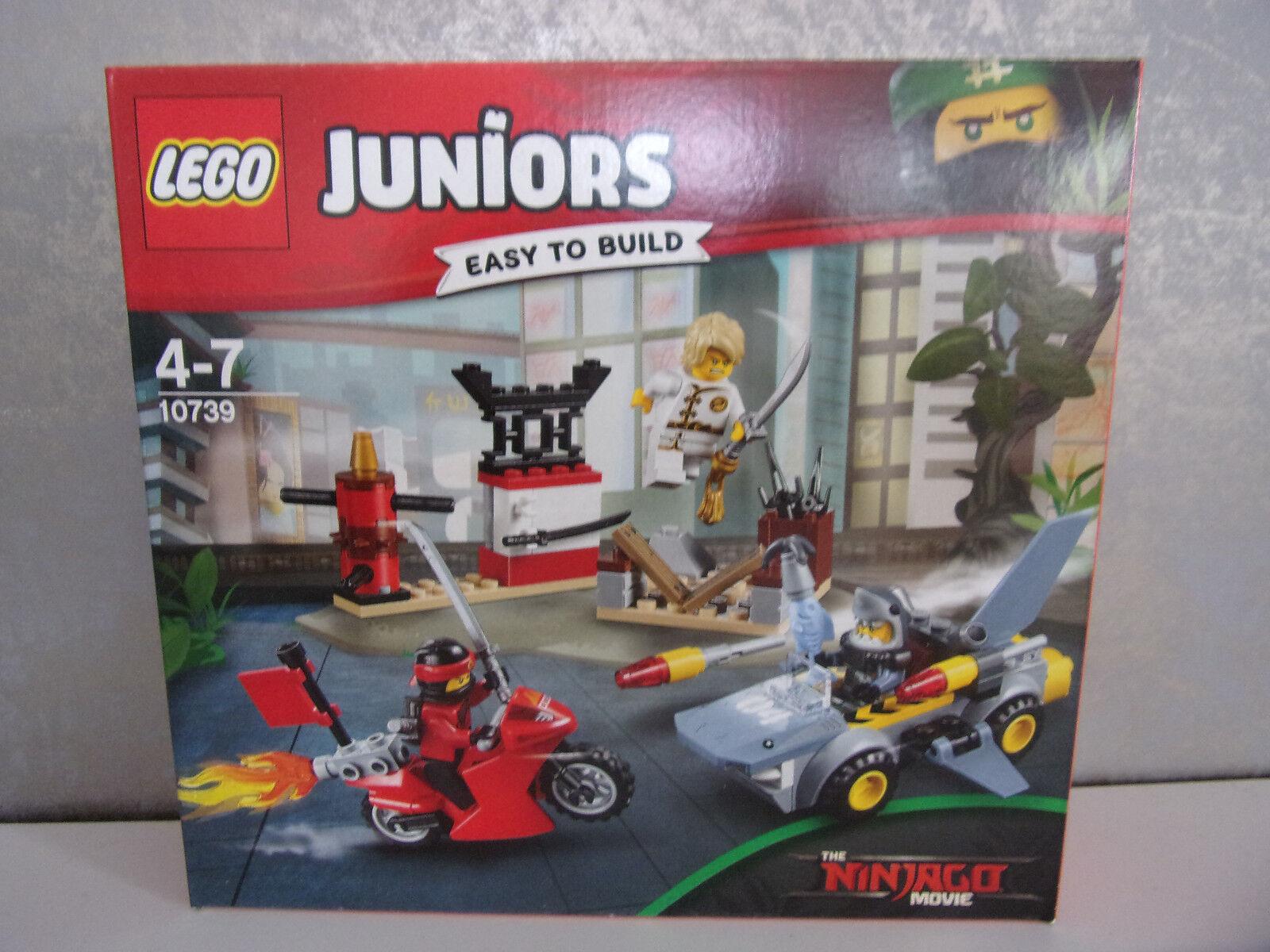 Lego Juniors the Ninjago Movie 10739 Haiangriff - Nip