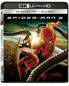 Spider-Man 2 (4K Ultra HD + Blu-Ray Disc) - Nuovo Sigillato