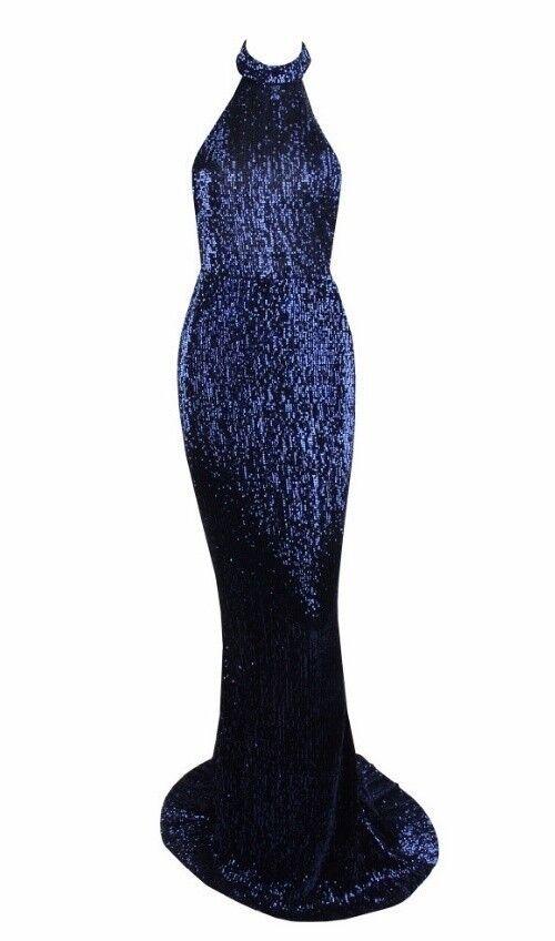 Celestial dresses Cali dress formal prom glitter sequin bead vintage XS UK8