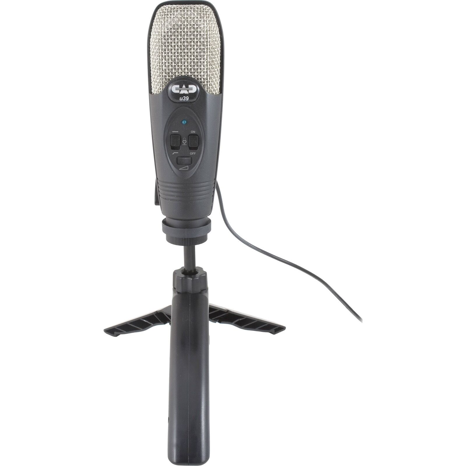 CAD Audio U39 USB Microphone w  TrakMix headphone monitoring   - Ships FREE U.S.