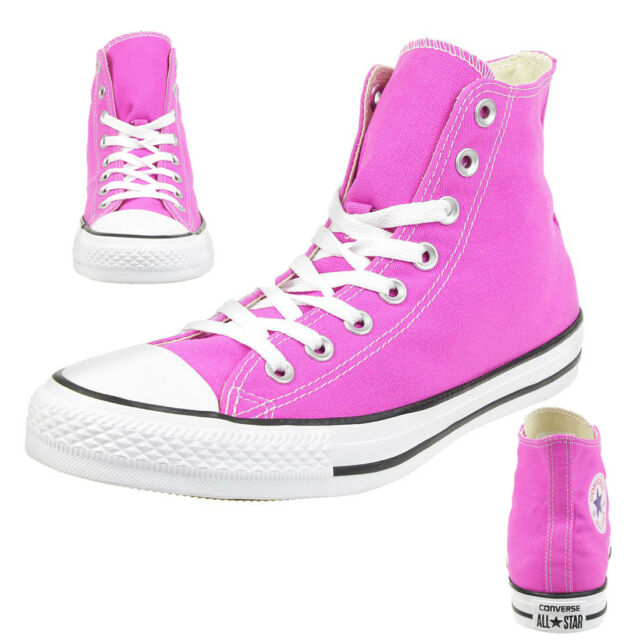 5eba65217eb1 Converse C Taylor All Star Hi Chuck Shoes Shoes Canvas Hyper Magenta 159673c