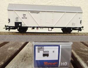 Roco-66955-Kuehlwagen-Tdhs-mit-Trapezdach-der-OBB-Epoche-3-4-neuwertig-in-OVP