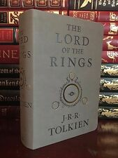 Lord of the Rings by J.R.R. Tolkien New Deluxe Edition Suede Leather Feel Gift