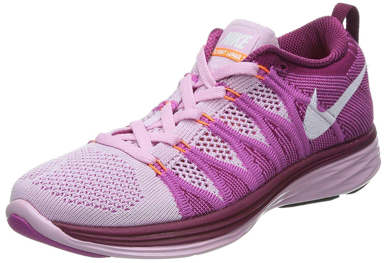 Damen Nike Flyknit Lunar2 rosa rosa rosa Turnschuhe 620658 615 1543a8