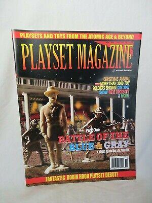 Playset Magazine #36 Marx Battle of the Blue/&Gray playsets part 1