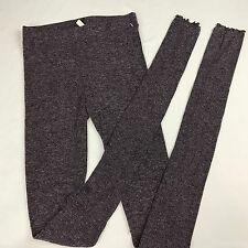 NWOT Free People Intimately Ribbed Long Pink Sweater Leggings Leggin pants XS