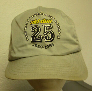 ski doo racing snowmobile 25th anniversary baseball hat