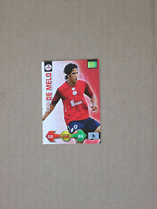 Trading-card-carte-panini-FOOT-2009-2010-ADRENALYN-XL-DE-MELO-LOSC-LILLE