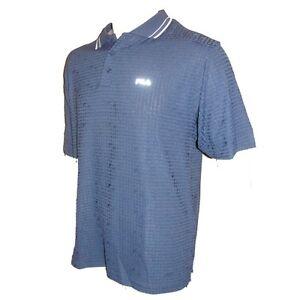 s bleu m Tailles Fila x magliette Chemise Hommes Polo Tennis Fibre static UnxvX6