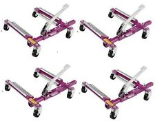 GoJak G4520 Go-Jak SuperSlick Dollies for Vehicles to 4500lbs Set of 4